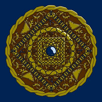 Capricorn Mandala by ValerieDesigns