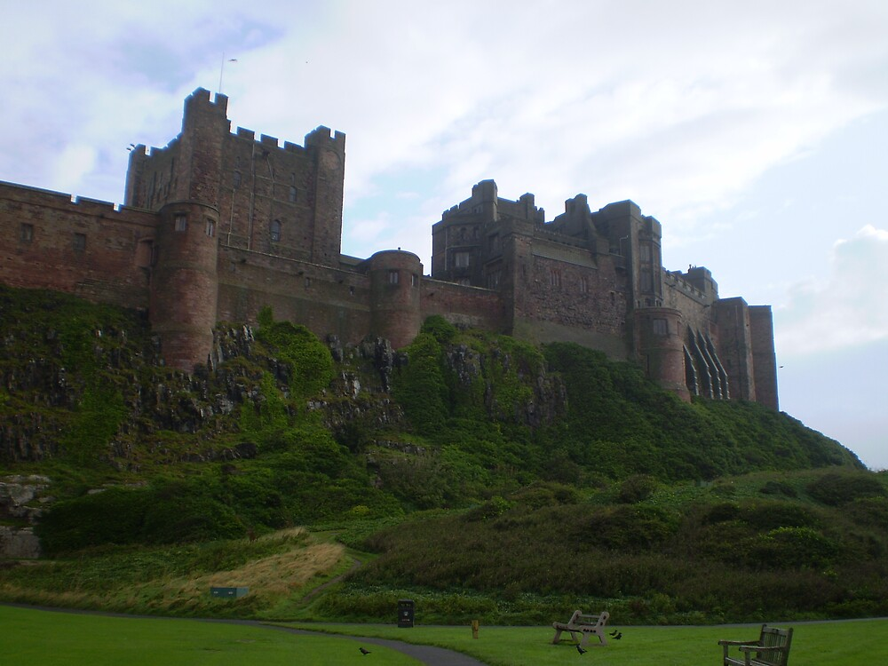 Bamburgh Castle by oscars
