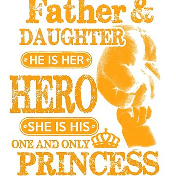 Father and daughter He is her Hero and she is his one and only Princess by Bolerovo