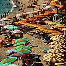Monterosso Beach by Barbara  Brown