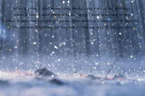 When it Rains by qtfm82