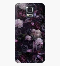 Midsummer Nights Dream #Dark Floral #Midnight #Black #Rose #Night Case/Skin for Samsung Galaxy