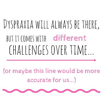 Dyspraxia Quote by Charloni