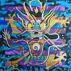 Hexagram 1:  Ch'ien (Creative Force) by Denise Weaver Ross