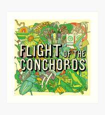 Flight Of The Conchords - Flight Of The Conchords Art Print
