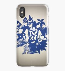 Save the Sea iPhone Case/Skin