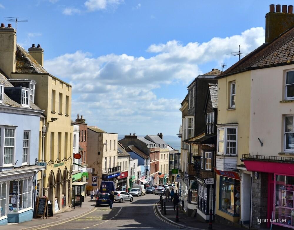 Lyme High Street, Dorset, UK by lynn carter