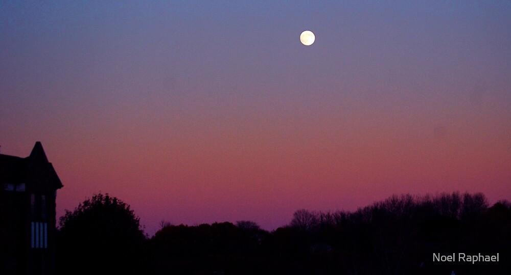 Fall Moon by Noel Raphael