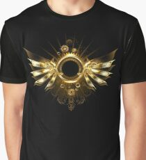 Mechanical Wings ( Steampunk wings ) Graphic T-Shirt