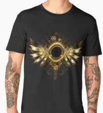 Mechanical Wings ( Steampunk wings ) Men's Premium T-Shirt