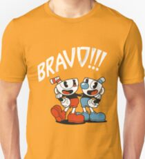 Cuphead - BRAVO!!! Unisex T-Shirt