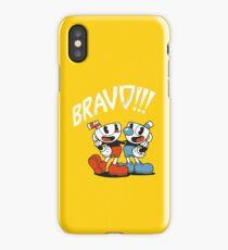 Cuphead - BRAVO!!! iPhone Case/Skin