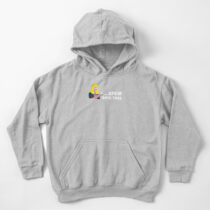 """""""Spew Into This"""" Design Kids Pullover Hoodie"""