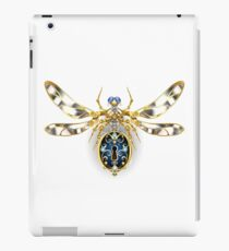 Mechanical Insect ( Steampunk dragonfly ) iPad Case/Skin