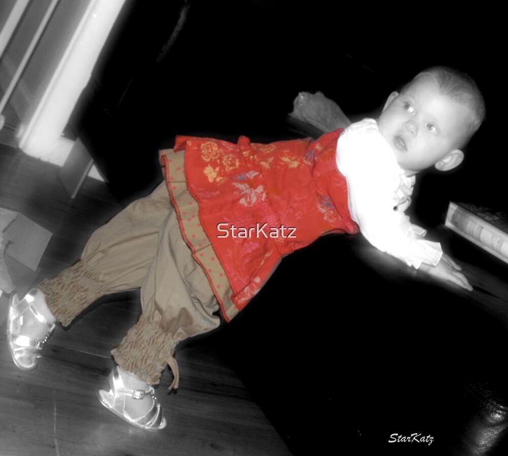 Finding Her Feet by StarKatz