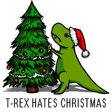 T-Rex Hates Christmas by afletcher