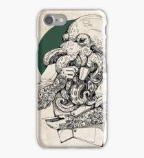 Mr Octopus Print/case iPhone Case/Skin