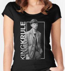 king krule photo Women's Fitted Scoop T-Shirt
