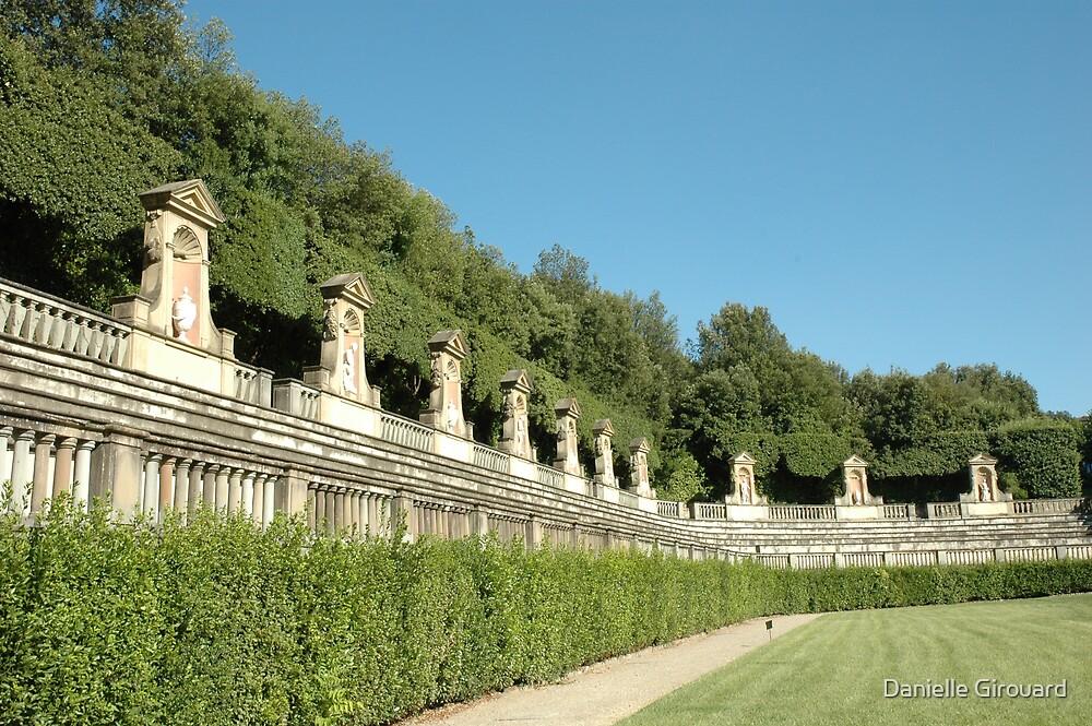 Bobolli garden Florence Italy by Danielle Girouard