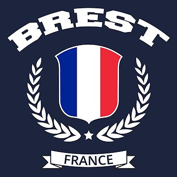 Brest France T-Shirt by SayAhh