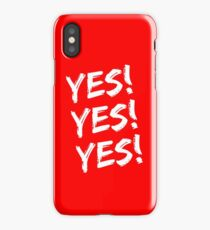 YES! YES! YES! Daniel Bryan iPhone Case/Skin