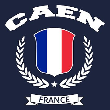 Caen France T-Shirt by SayAhh