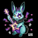 R is for Rockstar Rabbit by Miss Cherry  Martini