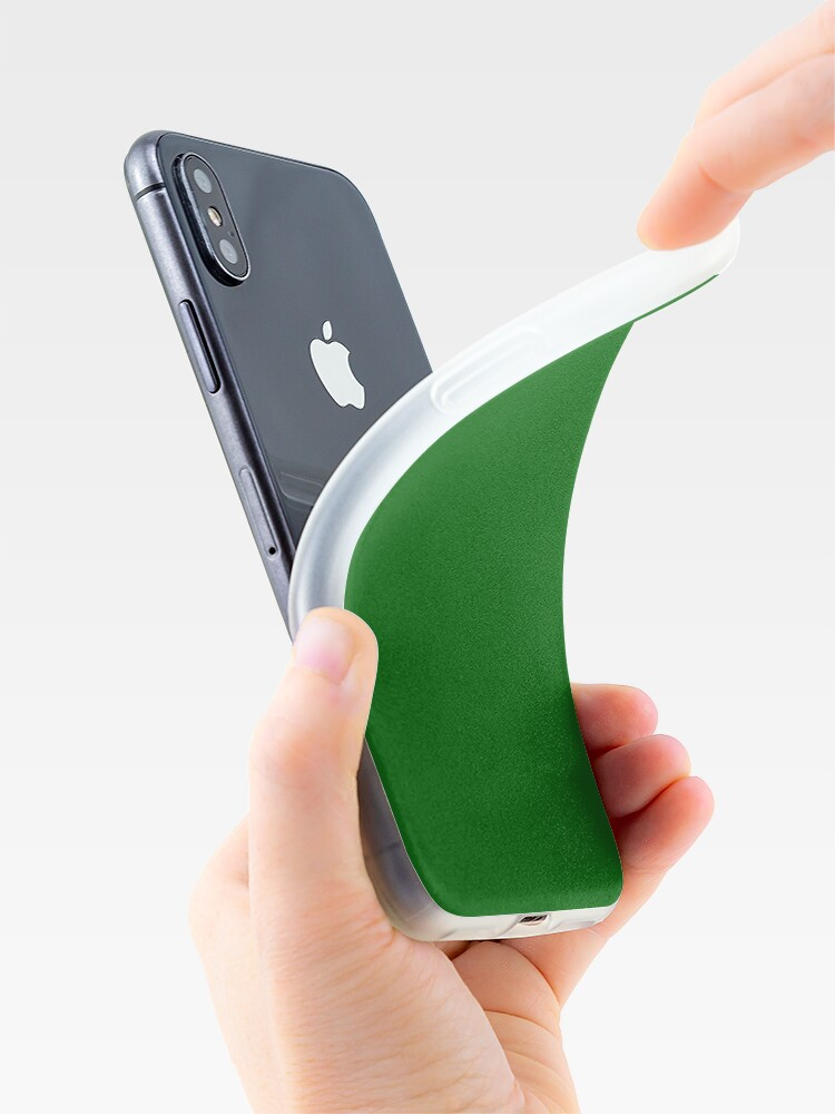 Alternate view of Emerald Green iPhone Case & Cover