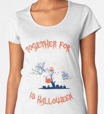 Halloween Shirt For Wife/Husband On 1st Anniversary. Women's Premium T-Shirt