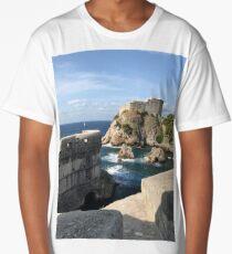 Croatia - The Wall Long T-Shirt