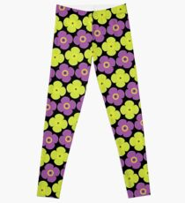 Flower pattern 8a Leggings