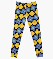 Flower pattern 9a Leggings