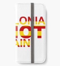 Catalonia Is Not Spain iPhone Wallet/Case/Skin