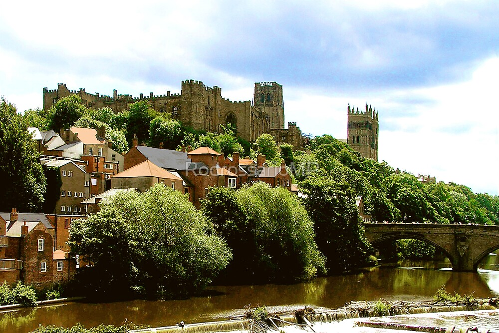 Durham Castle and Cathedral by RodrossarioMP