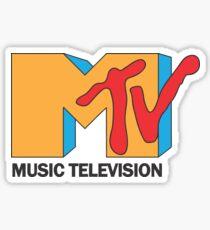 MTV Logo Merchandise Sticker