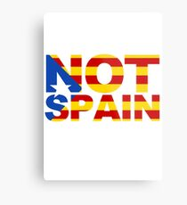 Catalonia Is Not Spain Metal Print