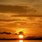 Sunset on the Amazon River by 3000ad