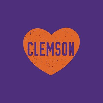 Clemson Universität Herz von its-anna
