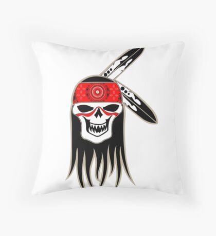 Skull Spirit  Throw Pillow