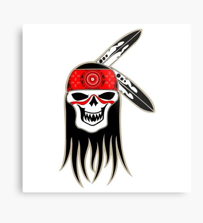 Skull Spirit  Metal Print