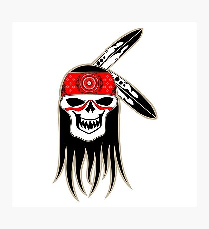 Skull Spirit  Photographic Print
