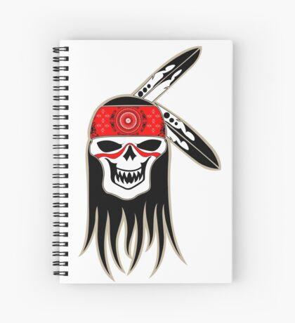Skull Spirit  Spiral Notebook