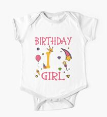 Birthday 1 year old Girl gift Kids Clothes