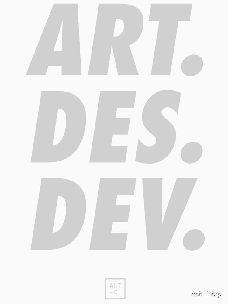 ALT - Art, Design, Develop by ashthorp