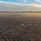 Impressive Los Angeles, California - Urban Sprawl and Smog by Georgia Mizuleva