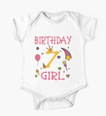 Birthday 7 year old Girl Gift Kids Clothes