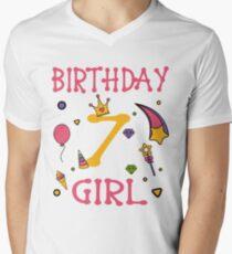 Birthday 7 year old Girl Gift T-Shirt