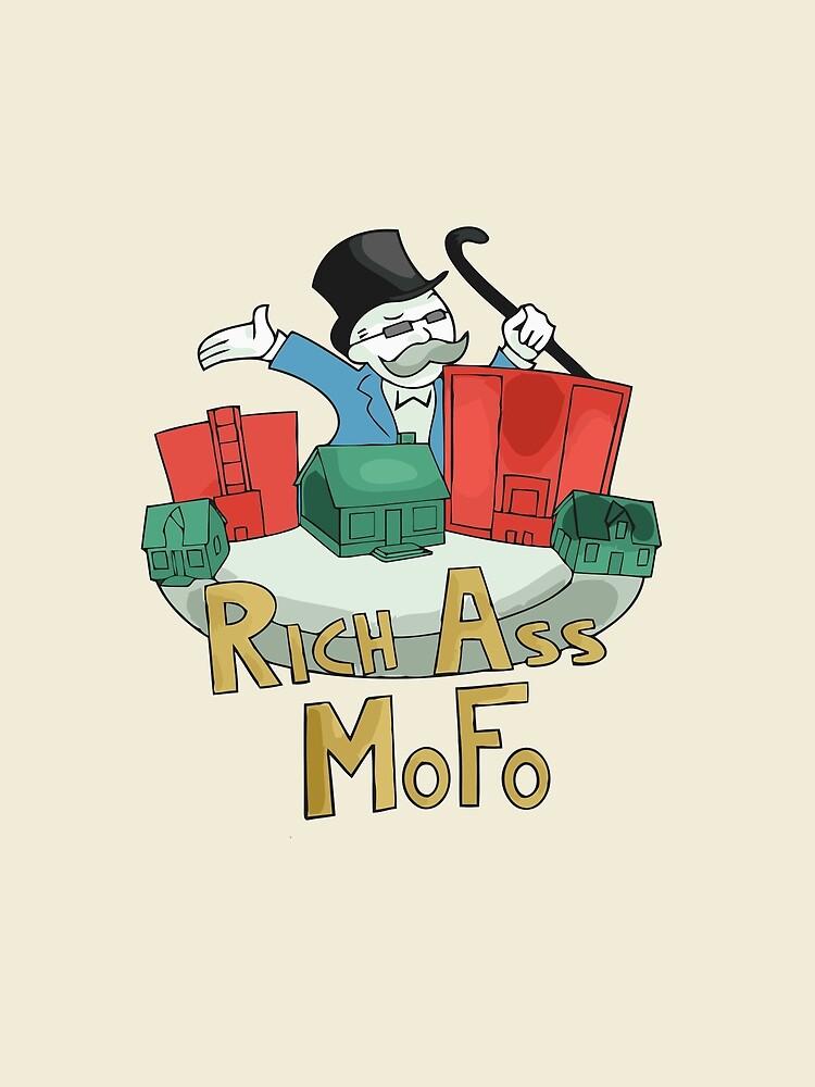 Rich Ass Mofo by chaumasaur