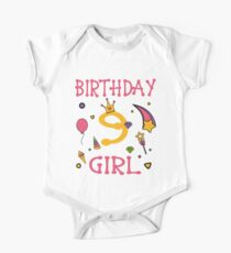 Birthday 9 year old Girl Gift Kids Clothes