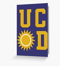 UC Sunnydale (Buffy) Greeting Card
